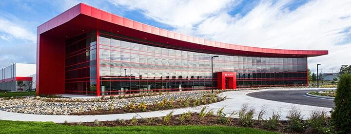 Wurth Canada building