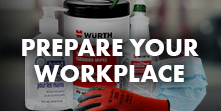 Prepare your workplace
