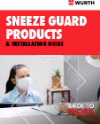 Sneeze Guards Install Guide